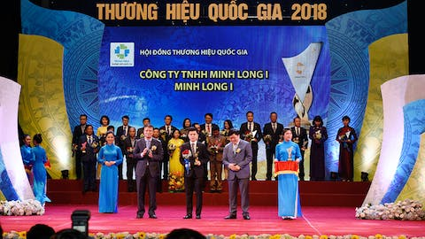 Minh Long I to win the National Brand 2018 six times in a row