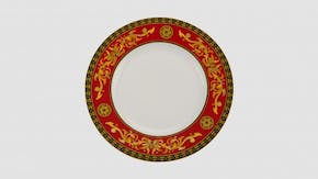 Round plate 28 cm - Palace - King Red