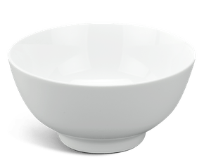 High soup bowl 18 cm - Jasmine - White