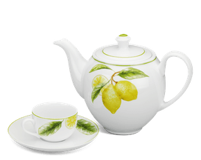 Tea set 0.8 L - Camellia - Lemon