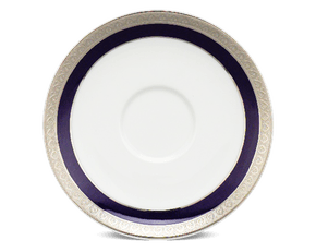 Soup bowl saucer 15 cm - Jasmine - Cycad (blue-emboss)