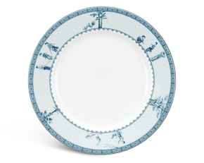 Round plate 20 cm - Jasmine - Rural side