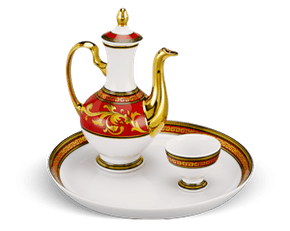 Tea set 0.27 L - Palace - King Red