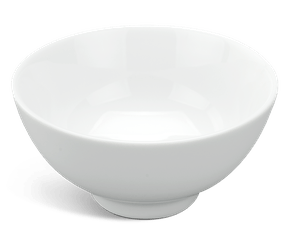 Soup bowl 10 cm - Jasmine - White