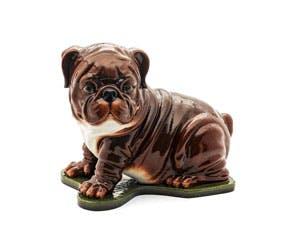 Bulldog 24 cm - Sculpture - Brown