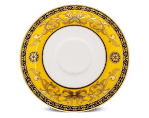 Saucer 13 cm - Palace - Thien Huong (yellow)