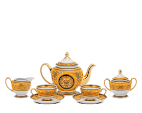 Tea set 1.3 L - Palace - King Yellow (Lotus)