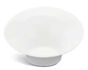 Flare small bowl 30 cm - Gourmet LY'S - White Ivory