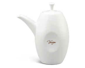Oil & vinegar bottle 0.25 L + lid - Anna LY'S - White Ivory