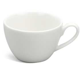 Tea cup 0.07 L - Daisy LY'S - White Ivory