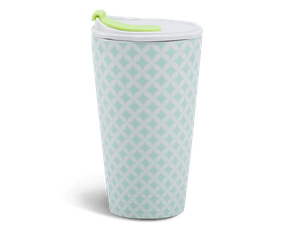 Porcelain Tumbler 0.48L and Straw Lid (Type 1) - Penny 1 (LTG)