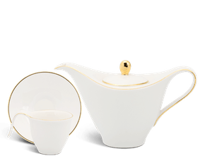 Coffee set 0.45 L - Harmony - Gold Line