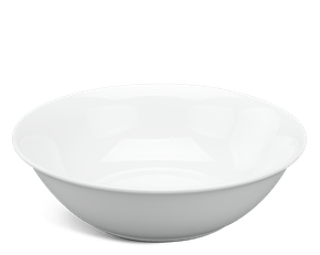Low soup bowl 18 cm - Daisy White
