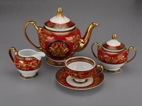 Tea set 1.3 L - Palace - King Red