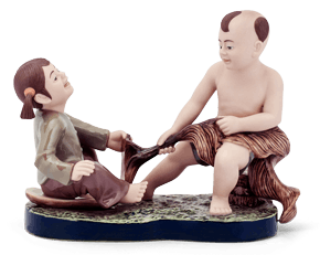 Effort for pulling - Sculpture - Figurine