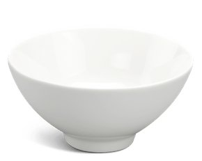 Soup bowl 11.5 cm - Daisy LY'S - White Ivory