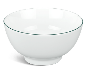High soup bowl 15 cm - Jasmine - Green line