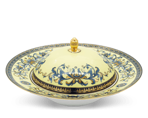 Soup plate 25 cm + lid - Palace - Royal Lotus