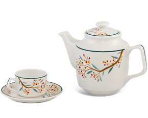 Tea set 0.7 L - Jasmine - Seasonal Fruit