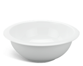 Rim soup bowl 22 cm - Jasmine - White