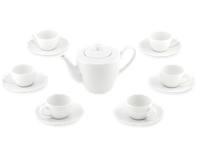 Tea set 0.45 L - Daisy White