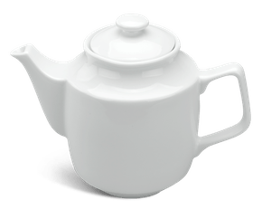 Tea pot 0.7 L + lid - Jasmine - White