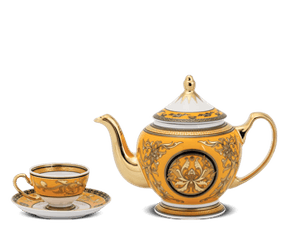 Tea set 0.8 L - Palace - King Yellow (Lotus)