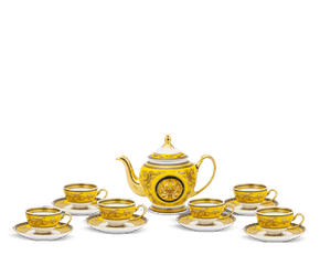 Tea set 0.8 L - Palace - Thien Huong (yellow)