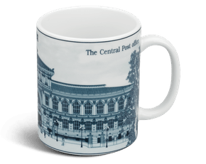 Mug 0.36 L - Jasmine - Central post office