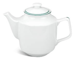 Tea pot 0.7 L + lid - Jasmine - Green line