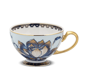 Tea cup 0.11 L - Palace - Gold Lotus 2