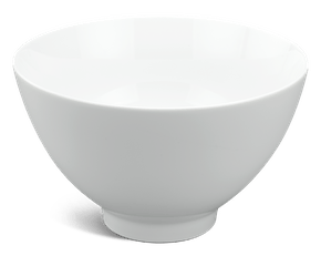 High soup bowl 20 cm - Daisy White