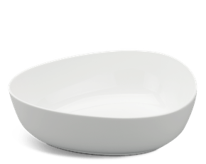 Galet small bowl 29 cm - Gourmet LY'S - White Ivory