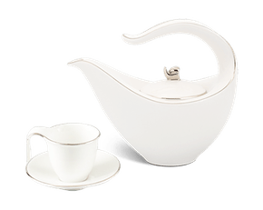 Tea set 0.45 L - Harmony - Platinum line
