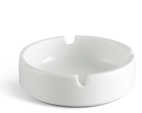 Round ashtray - Jasmine LY'S - White Ivory