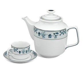 Tea set 1.1 L - Jasmine - Four precious