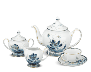 Tea set 1.3 L - Palace - Gold Lotus 1