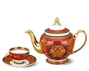 Tea set 0.8 L - Palace - King Red