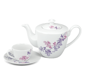 Tea set 0.65 L - Daisy - Forever