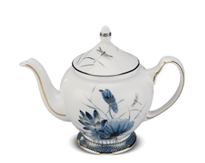 Tea pot 0.8 L + lid - Palace - Gold Lotus 1