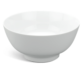High soup bowl 20 cm - Jasmine - White