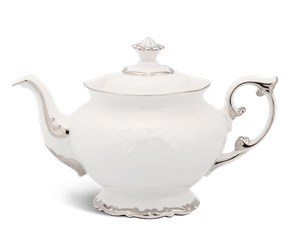 Tea pot 1.3 L + lid - Queen - Platinum line