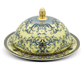 Round plate 31 cm + lid - Palace - Royal Lotus