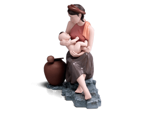 My joy of life - Sculpture - Figurine