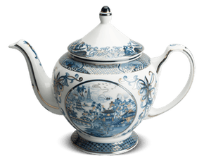 Tea pot 1.3 L + lid - Palace - Vietnam spirit (gold line)