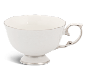 Tea cup 0.18 L - Queen - Platinum line