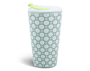 Porcelain Tumbler 0.48L and Straw Lid (Type 1) - Komos (LTB)