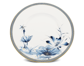 Round plate 28 cm - Palace - Gold Lotus 1