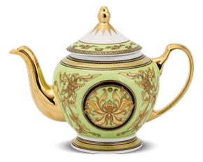 Tea pot 0.8 L + lid - Palace - Thien Huong (green)