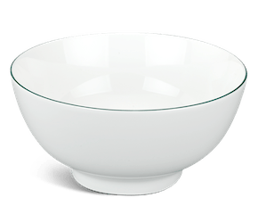 High soup bowl 20 cm - Jasmine - Green line